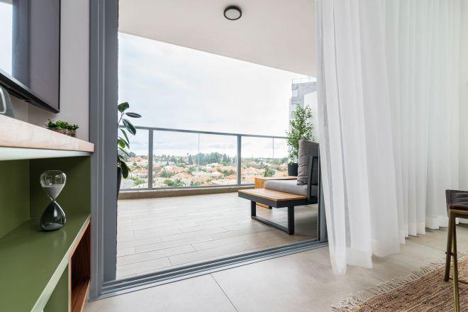 דירה במגדלים עם נוף לפרדסים
